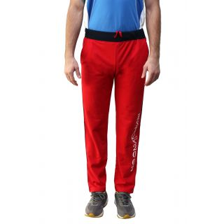 Fitz Red Regular Fit Mens Trackpant