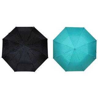 Fendo Auto Open Nylon Fabric Multicolor Combo Umbrella Fine