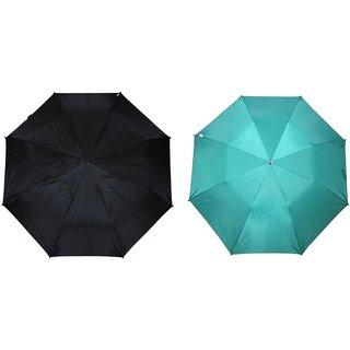 Fendo Auto Open Nylon Fabric Multicolor Combo Umbrella In Fashion