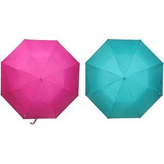 Fendo Auto Open 2 Fold Nylon Fabric Umbrella Modernistic