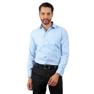 Solemio Pink Cut Away Solid/Plain Formal Shirt For Men