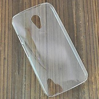 PLAIN TRANSPARENT SOFT GEL BACK COVER CASE FOR Motorola Moto G 2nd GEN XT1068 G2