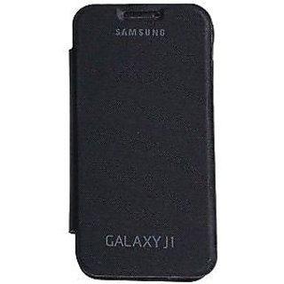 Flip Cover For SAMSUNG GALAXY J1 BLACK