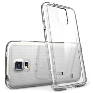 Soft Transparent Back Case Cover For Samsung Galaxy S5.
