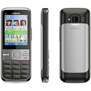 Body panel case Full for Nokia C5-00 BLACK
