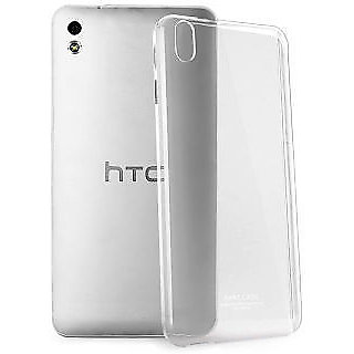 Soft Transparent Back Case Cover For HTC Desire 626
