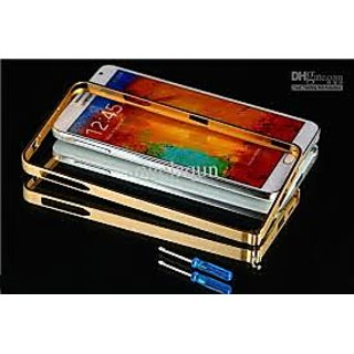 HIGH QUALITY METAL CASE COVER BUMPER FOR SAMSUNG GALAXY NOTE 3 NEO - GOLDEN