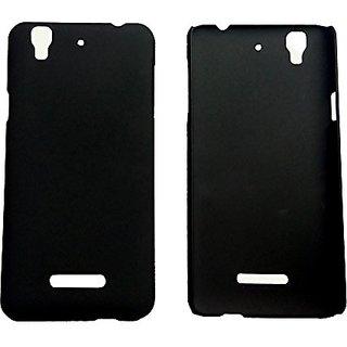 cheap for discount 95ae4 fd5cb Back Cover For Micromax Yu Yureka - Black 5366373
