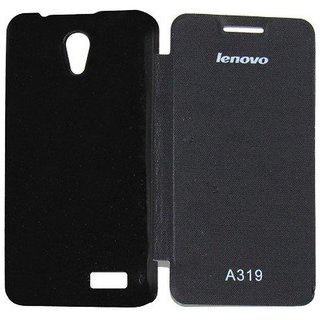 the latest 64a4f d150f FLIP COVER FOR LENOVO A319 (BLACK)