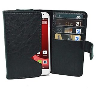 Totta Wallet Case Cover for Motorola Droid Razr (Black)