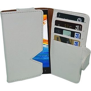 Totta Wallet Case Cover for Gionee Elife E5 (White) ACCE8URSSTAZGHGB