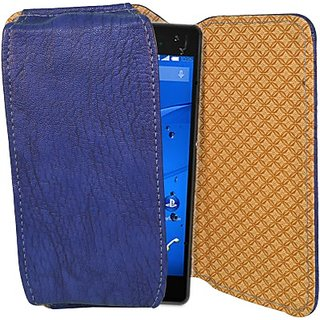 Totta Pouch for Sony Xperia C4 (Blue)