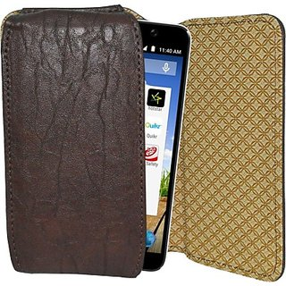Totta Holster for Micromax Canvas Spark (Brown)
