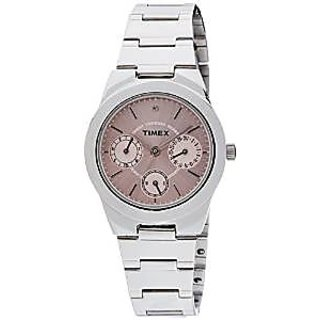 Timex J100 E Class Analog Pink Dial Women's Watch