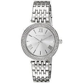Giordano Quartz Silver Dial Women Watch-2713-11