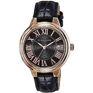 Giordano Quartz Black Dial Women Watch-G2003-55