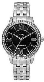 Timex Quartz Black Dial Women Watch-TW000Y806