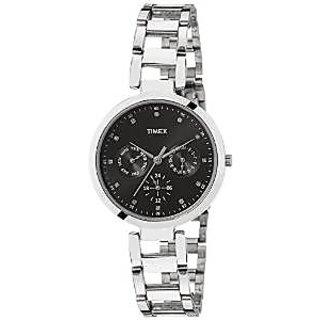Timex TW000X205 E Class Analog Black Dial Women's Watch
