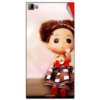 Instyler Mobile Skin Sticker For Xolo 8X1000 MSXOLO8X1000DS10062
