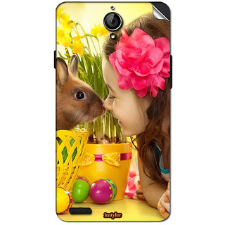 Instyler Mobile Skin Sticker For Xolo Q1100 MSXOLOQ1100DS10067