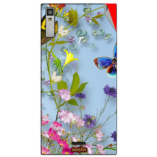 Instyler Mobile Skin Sticker For Xolo Q600S MSXOLOQ600SDS10041