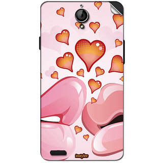 Instyler Mobile Skin Sticker For Xolo Q1100 MSXOLOQ1100DS10113