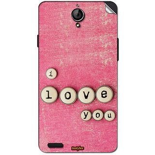 Instyler Mobile Skin Sticker For Xolo Q1100 MSXOLOQ1100DS10126