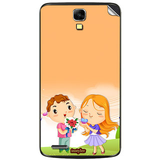 Instyler Mobile Skin Sticker For Xolo Q700 MSXOLOQ700DS10055