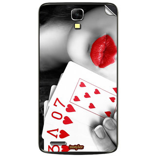 Instyler Mobile Skin Sticker For Xolo Q700 MSXOLOQ700DS10106