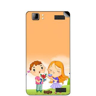 Instyler Mobile Skin Sticker For Xolo Q1200 MSXOLOQ1200DS10055
