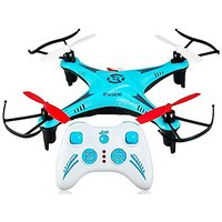 VINSON STORE AZi Rc Quadcopter 2.4ghz Drone Mini 6-axis Aerocraft Blue