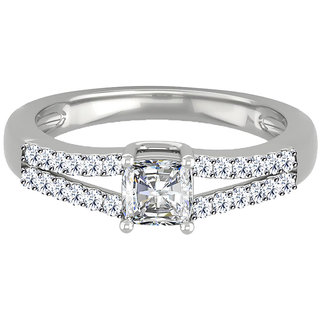 Frightening Solitaire Ring