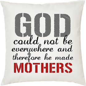 GOD  ShopTwiz Printed Cushion Cover 12 Inch ( Cushion Included )