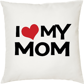 Mom   ShopTwiz Printed Cushion Cover 12 Inch ( Cushion Included )