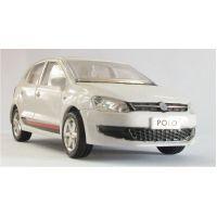 Toys Model Pull Back Action Car Polo Gift Toy For Kids Baby Children White