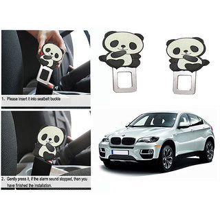 Takecare Safety Seat Belt Buckle Alarm Stopper Clip Clamp For Bmw X3