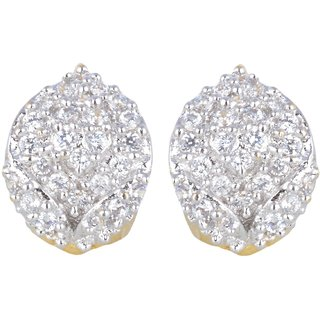 Ad Bali Gold Plated Stud Earring for Women