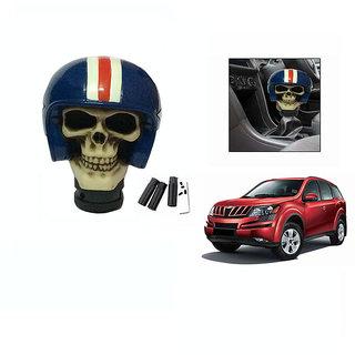 Takecare Stylish Helmet Gear Knob For Mahindra Xuv 500 Old 2010-2014