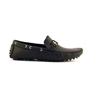Zoot24 Mens Black Casual Loafers