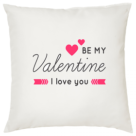 Be My Valentine  ShopTwiz Printed Cushion Cover 12 Inch ( Cushion Included )