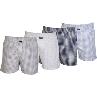 Careus MenS Cotton Boxers (Pack Of 4)