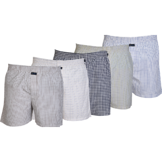 Careus MenS Cotton Boxers (Pack Of 5)