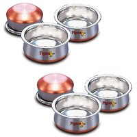 Pigeon Baby Handi Dish Copper Bottom 3Pcs Set 150ml,250ml400ml (Buy 1 get 1)