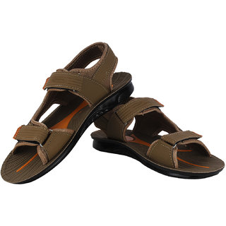 Bersache Khaki-806 Men/Boys Floater  Sandals