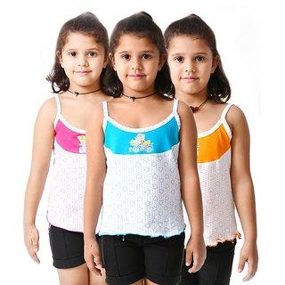 Lilsugar Girls Dual Coloured Heart Print Slips