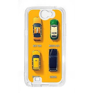 Anger Beast`s Designer Back Cover ( Transparent ) for Samsung Galaxy Note 2 SG_N2_387