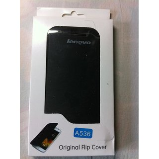 100% PROPER FITTING LENOVO A-536 FLIP COVER CASE (FREE SAME DAY DISPATCH SERVICE)