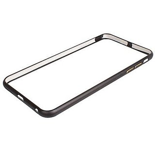 Aluminium Metal Bumper case for Iphone 6 Plus-Black