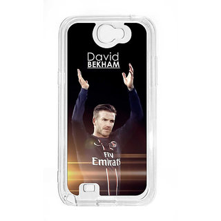 Anger Beast`s Designer Back Cover ( Transparent ) for Samsung Galaxy Note 2 SG_N2_398