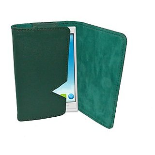 Totta Wallet Case Cover for ZTE Blade L V887 (Green) ACCEBCQJ9ECEZUJJ